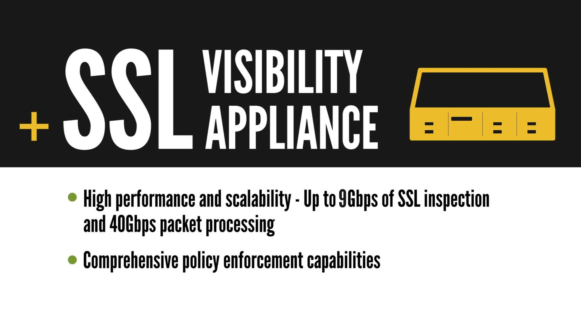 SSL Visibility Appliance | SSL Decryption | Symantec